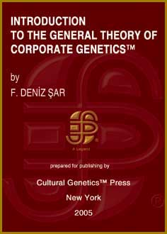 F. Deniz Sar: Introduction to the General Theory of Corporate Genetics, Cultural Genetics Press, New York, 2005.